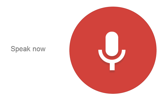 Voice search in your app