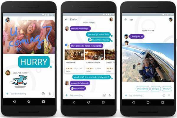 Google Allo and Duo