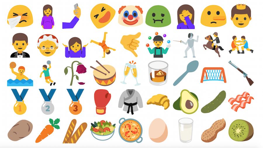Unicode 9.0 emoji support