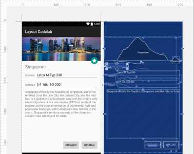 Building interfaces with ConstraintLayout in Android Studio