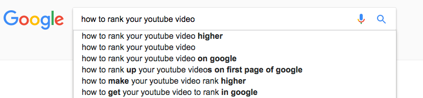 How To Rank Youtube Video On First Page Of Google 2017