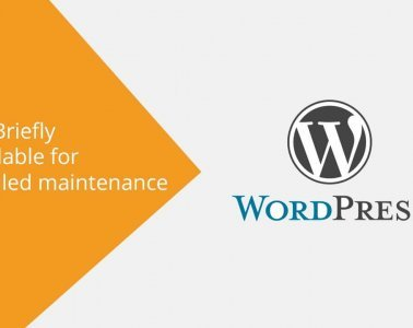 How to fix briefly unavailable for scheduled maintenance in WordPress