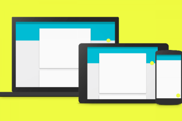 Material Design Frameworks 2016