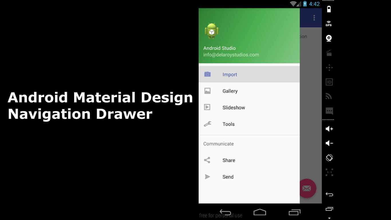drawerlayout android dev