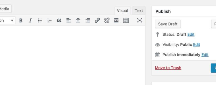 wordpress-old-editor