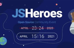 JSHeroes 2020 - Cancelled